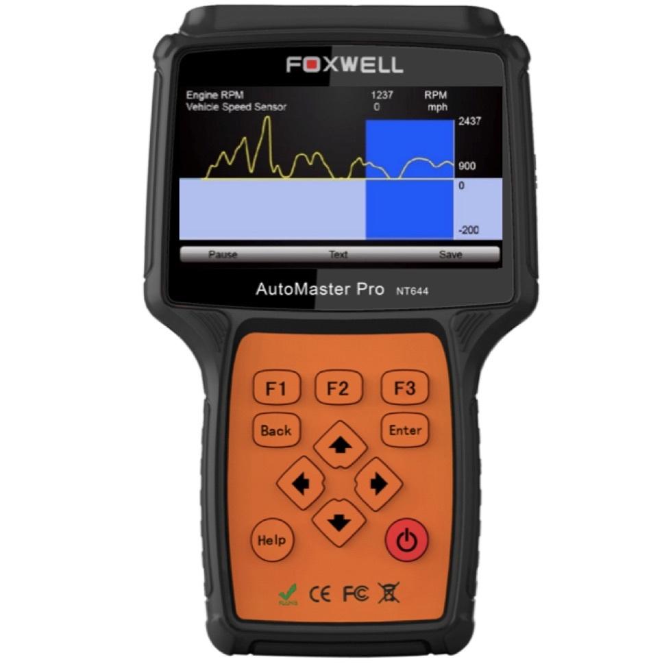 FOXWELL NT644 AU OBD2 OBD1 All System Diagnostic Reset Scan Tool Oil EPB DPF