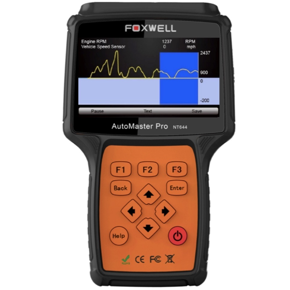 FOXWELL NT644 PRO OBD2 OBD1 All System Diagnostic Scan Tool Service Reset